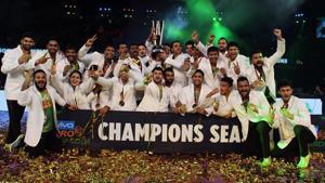Patna Pirates are the defending Pro Kabaddi League champions.(HT Photo)