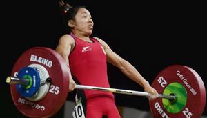 Weightlifter Sanjita Chanu,CWG gold medallist, fails dope test, gets suspended