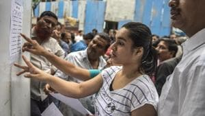 NEET result 2018: The Central Board of Secondary Education (CBSE) announced result on Monday. The exam was held on May 6.(Satish Bate/HT File Photo)