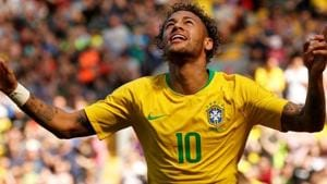 Neymar will be hoping to return stronger than ever after an injury he suffered playing for his club Paris Saint-Germain.(REUTERS)