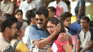 CBSE NEET result 2018: The Central Board of Secondary Education (CBSE) declared the results of NEET 2018 on Monday. Students can check their NEET exam results on the official website cbseneet.nic.in.(Mujeeb Faruqui/HT file)