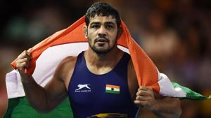 Sushil Kumar was exempted from competition in the selection trials for the Asian Games 2018.(AFP)