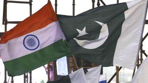 The meet was conducted with the aim of maintaining peace on the India-Pakistan border.(Raj K Raj/HT File Photo)