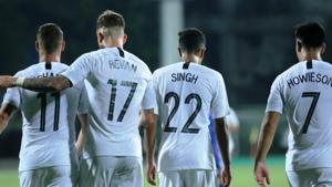 New Zealand kept their hopes alive in Intercontinental Cup with a 1-0 win over Chinese Taipei.(Twitter)