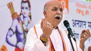 Former VHP leader Pravin Togadia said he would launch a Hindu movement across India and accused PM Narendra Modi of failing farmers.(PTI/File Photo)