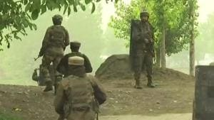 Militants fired grenades at the camp and used heavy volume of automatic gunfire to which the guards at the camp retaliated, police said.(ANI/Twitter)