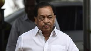 MSP chief Narayan Rane on Thursday accused SHiv Sena of doing nothing for Marathi manoos.(HT File)