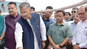 The technology will help fill a huge gap in internet connectivity in the hill state owing to its tough terrain, says the chief minister.(HT Photo)