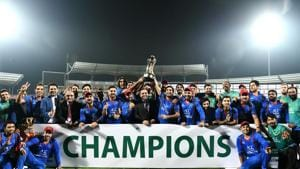 Afghanistan had never won a Twenty20 against Bangladesh before this series but they secured a magnificent 3-0 whitewash.(AFP)