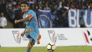 India trounced Kenya 3-0 in the group stage of the Intercontinental Cup and will be keen to replicate that form in the final.(AP)