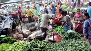 """The Rashtriya Kisan Mahasangh, a union of 110 farmer organisations, had called a nation-wide bandh on Sunday to protest against the """"anti-farmer policies"""" of the central government.(HT File Photo/Representative image)"""