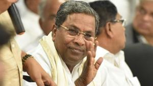 Former Karnataka chief minister Siddaramaiah(Arijit Sen/HT File Photo)