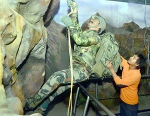History of Kargil war will be showcased in the Amritsar museum through paintings, art works, 2-D and 3-D projections.(HT Photo)