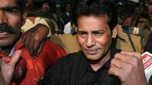 Abu Salem was extradited from Lisbon, Portugal, in 2003.(Sonu Mehta/HT File Photo)