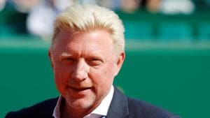Boris Becker, who won six Grand Slams in the 1980s and 90s, was declared bankrupt by a London court in June 2017 for failing to pay a long-standing debt.(REUTERS)