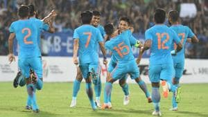 Stephen Constantine is set to hold a camp for Indian men's football team in July ahead of Asian Games.(PTI)