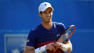 Andy Murray has been sidelined for close to a year after undergoing hip surgery.(REUTERS)