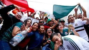 The alleged chants came in Mexico's 1-0 win over Germany at FIFA World Cup 2018.(AFP)
