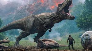 Jurassic World: Fallen Kingdom has made $370 million worldwide.(AP)