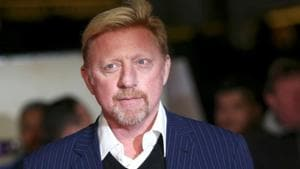 Boris Becker, 50, was declared bankrupt by a British court in 2017 in connection to a debt to private bankers Arbuthnot Latham & Co.M(Reuters)