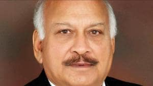 Punjab minister for medical education and health Brahm Mohindra(HT File)
