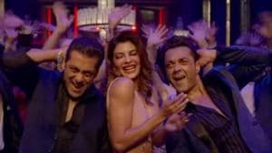 A scene from Race 3's Party On starring Salman Khan, Jacqueline Fernandez and Bobby Deol.