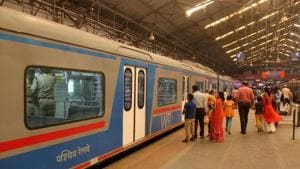 Many are reluctant to spend on the high priced AC local fare(HT Photo)