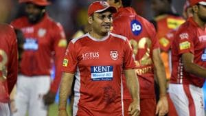 Virender Sehwag posted a cheeky tweet on Thursday to celebrate International Yoga Day.(AFP)