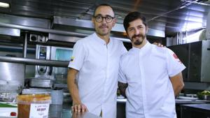Masterchef Alejandro Gutierrez and Chef Juan Manuel talk about Colombian cuisine, what makes a Colombian meal complete and specialty coffees.(Photo: Raajessh Kashyap/HT)