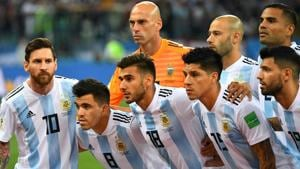 Argentina can still qualify for the FIFA World Cup 2018 knock-out round despite losing 0-3 to Croatia.(AFP)