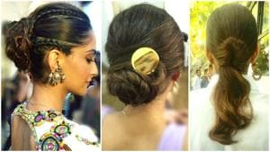 Scroll down to find your perfect next hairstyle inspired by these Sonam Kapoor looks seen in Veere Di Wedding. (Instagram)