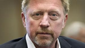 Boris Becker claimed diplomatic immunity from bankruptcy proceedings in Britain as an ambassador for the Central African Republic.(AFP)