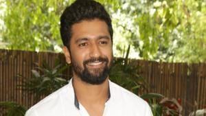 Actor Vicky Kaushal during a press conference organised to promote Raazi in New Delhi.(IANS)