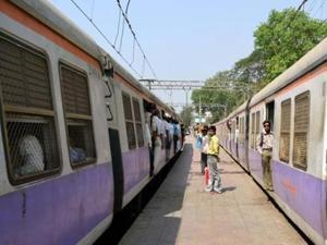 The project is expected to be a game-changer for suburban local trains, as the corridor will connect to all three existing lines - western, central and harbour.(HT File Photo)