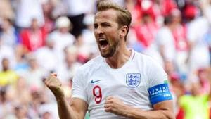Harry Kane's England crushed Panama 6-1 in their second game of FIFA World Cup 2018 on Sunday.(AFP)