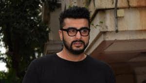 Actor Arjun Kapoor celebrated his birthday at his residence in Juhu, Mumbai on April 26, 2018.(IANS)