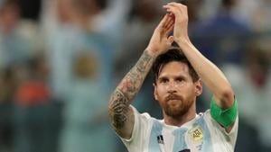 Lionel Messi's Argentina beat Nigeria 2-1 to qualify for the pre-quarterfinals of FIFA World Cup 2018.(REUTERS)