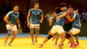 India beat South Korea 36-20 to set up the final against Iran.(Twitter)