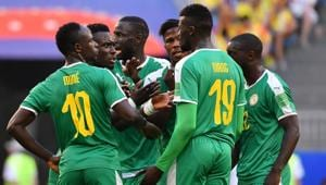 Senegal's elimination means 2018 is the first time in 36 years that an African team failed to reach the FIFA World Cup's second round.(AFP)