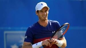 Andy Murray has only just returned to action after 11 months on the sidelines due to a hip injury that needed surgery in January.(REUTERS)