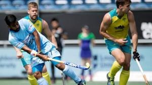 Manpreet Singh was the only Indian to score in the penalty shootout against Australia in the Champions Trophy final.(Frank Uijlenbroek)
