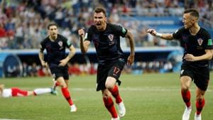 Luka Modric of Croatia and Christian Eriksen of Denmark will be key for their teams. Get live score and updates of Croatia vs Denmark FIFA World Cup 2018 Round of 16 match here.(REUTERS)