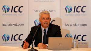 Dave Richardson is the chief executive of International Cricket Council (ICC). He will step down after the 2019 Cricket World Cup.(Reuters)