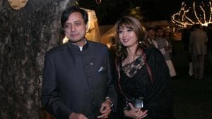 Sunanda Pushkar was found dead in a luxury hotel room on the night of January 17, 2014.(HT File Photo)