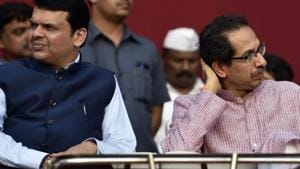 According to the Congress, the Fadnavis-led BJP government helped a builder illegally acquire 24 acres of Cidco-owned land in Kharghar.(HT File Photo)