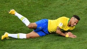 Neymar's Brazil lost 1-2 to Belgium in the FIFA World Cup 2018 quarter-finals.(AFP)