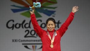 Weightlifter Mirabai Chanu had won a gold in the women's 48kg category at the World Championships held in United States last November.(AP)