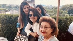 Four generations of Kapoor women in one Parisian adventure.
