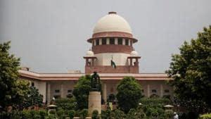 File photo of Supreme Curt building in New Delhi.(AP photo)