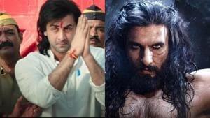 Ranbir Kapoor essays Sanjay Dutt's in Sanju while Ranveer Singh played Alauddin Khilji in Padmaavat.